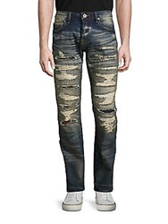 Cult Of Individuality Rebel Straight Faded Jeans Navajo