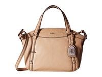 Lauren Ralph Lauren Kailee Crossbody Straw Cross Body Handbags Neutral