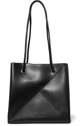 Victoria Beckham Cube Small Leather Shoulder Bag Black
