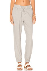 Minkpink Lace Up Track Pant Gray