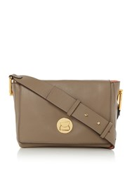 Coccinelle Liya Small Cross Body Bag Taupe
