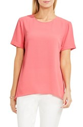 Vince Camuto Women's High Low Blouse Rossetto