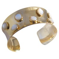 Second Daughter Thick Persh Cuff Gold