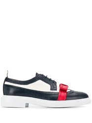 Thom Browne Pebbled Leather Bow Brogues 60