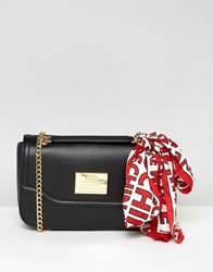 Love Moschino Clutch With Chain Black