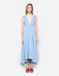 Farrow Giza Dress In Blue