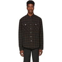 Wonders Black Plaid Base Shirt