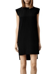 Allsaints Silk Tonya Lew Dress Black