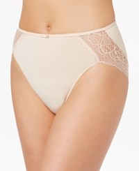 Bali Lace Desire High Cut Brief Dfld62 Champagne