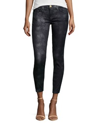 Current Elliott Slim Fit Stretch Jeans Silver Foil