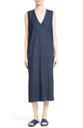 Equipment Women's Connery Denim Midi Shift Dress