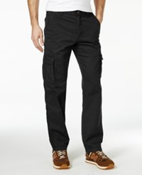 American Rag Men's Solid Cargo Pants Pirate Black