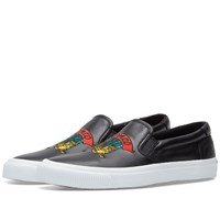 Kenzo Jumping Tiger Slip On Black
