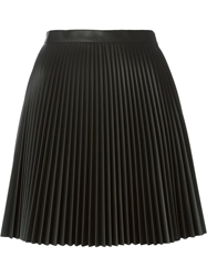 Amen Pleated A Line Skirt Black