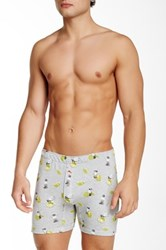 Tommy Bahama Printed Knit Boxer Brief Gray