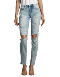 Blank Nyc Happy Tears Distressed Skinny Jeans