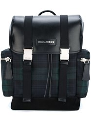 Dsquared2 'Donald' Backpack Blue