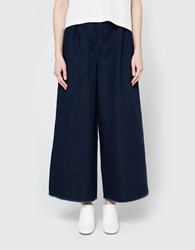 Ashley Rowe Long Pant In Dark Denim
