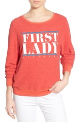 Wildfox Couture Women's Wildfox 'Baggy Beach Jumper First Lady' Pullover