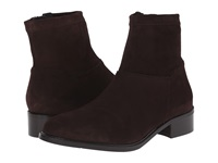 Sesto Meucci Albie Tmoro Suede Matching Stretch Suede Women's Pull On Boots Brown