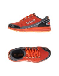 Helly Hansen Footwear Low Tops And Trainers Men Brick Red