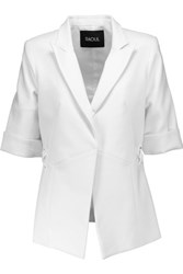 Raoul Breeze Cotton Blend Blazer White