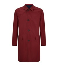 Gieves And Hawkes Reversible Mac Overcoat Male Multi