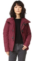 Dsquared Haruko Puffer Coat Bordeaux