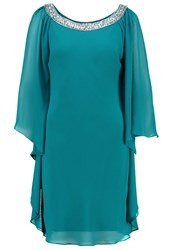 Mascara Cocktail Dress Party Dress Teal Turquoise