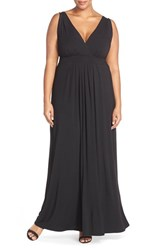 Plus Size Women's Tart 'Chloe' Empire Waist Jersey Maxi Dress