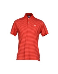 Franklin And Marshall Polo Shirts Red