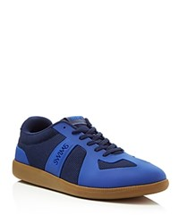 Swims Lucas Lace Up Sneakers Navy Royal
