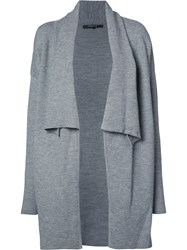 Derek Lam Open Cardigan Grey