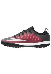 Nike Performance Mercurialx Finale Ii Tf Astro Turf Trainers Team Red Black Racer Pink White