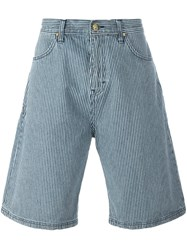 House Of Holland 'Hoh X Lee Collaboration' Shorts Blue