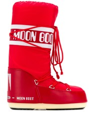 Moon Boot Logo Print Snow Boots 60