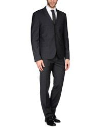 J.W. Tabacchi Suits Steel Grey
