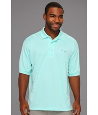 Columbia Perfect Cast Polo Gulf Stream Men's Short Sleeve Pullover Blue