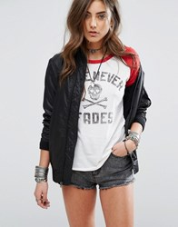 Denim And Supply Ralph Lauren By Bomber Jacket Black