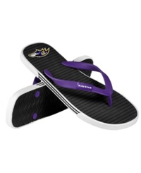 Forever Collectibles Baltimore Ravens Thong Sandals