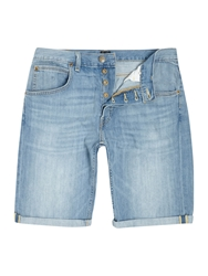 Lee Regular Fit Denim Short Light Blue
