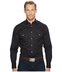 Lucchese El Paso Black Long Sleeve Button Up