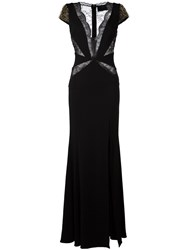 Philipp Plein 'Daphne' Evening Dress Black