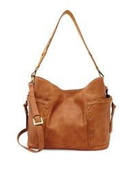 Steve Madden Kailyn Faux Leather Satchel Tan