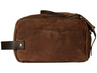 Will Leather Goods Yocum Ridge Travel Kit Field Tan Travel Pouch