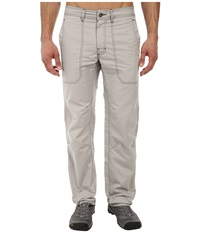 Prana Outpost Pant Greystone Men's Casual Pants Beige