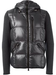Moncler Grenoble Hooded Zip Jacket Grey