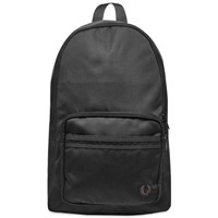 Fred Perry Tonal Tipped Backpack Black