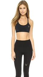 Lucas Hugh Core Performance Cross Back Sports Bra Black
