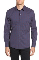 Zachary Prell Maslin Sport Shirt Denim